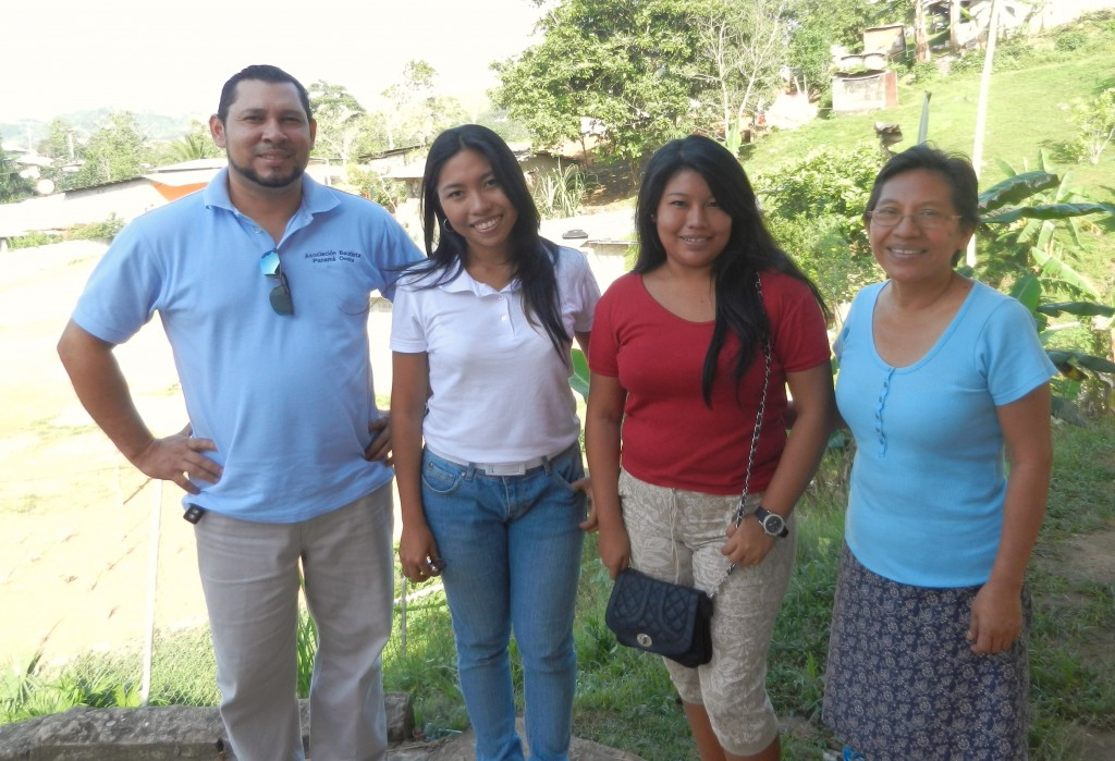Four of our leaders in Panama